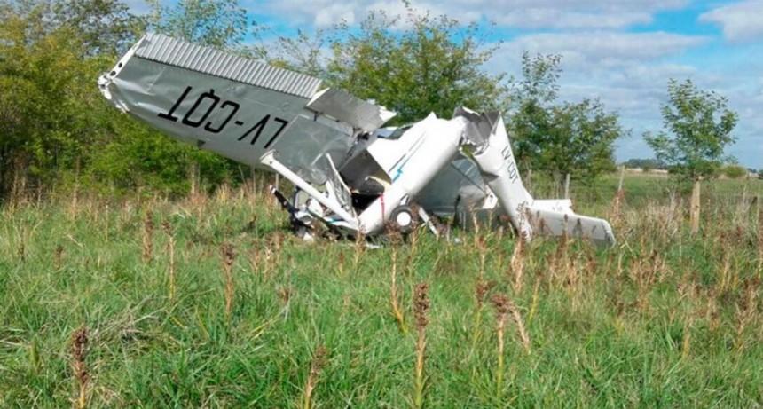 Cayó una avioneta en General Rodríguez: hay heridos