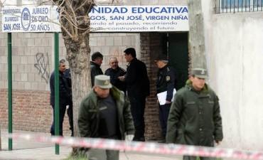 MUERTE: Una chica de 15 años murió en el patio de la escuela por una bala perdida