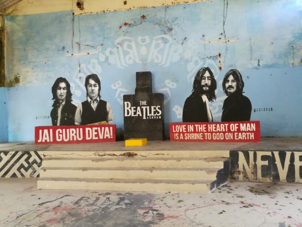 The Beatles en la India