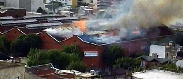 Incendio y derrumbe en Barracas: nueve muertos