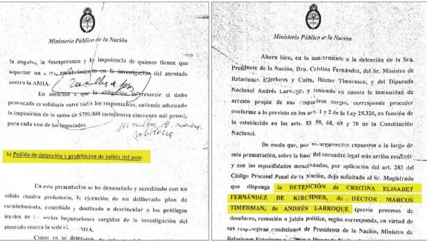 JORGE CAPITANICH: Otro papelón. Documentos confirman que Nisman pensó en pedir el arresto de Cristina