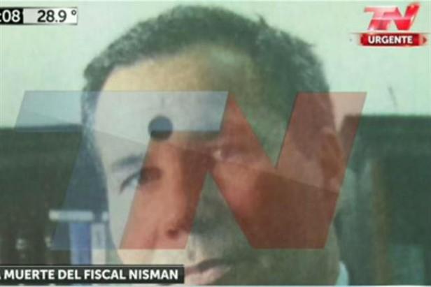 CASO NISMAN Esta es la foto del Fiscal  con la amenaza que denunció Arroyo Salgado