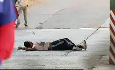 El hombre que tiraron del Puente Avellaneda es discapacitado
