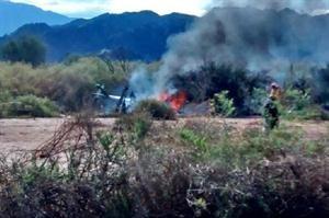 LA RIOJA: Chocaron dos helicópteros y hay 10 muertos