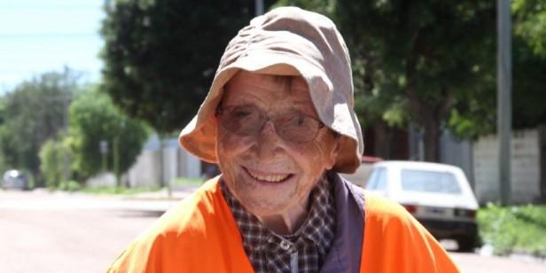 EMMA MORONCINI: La abuela peregrina, a un paso de cumplir su sueño