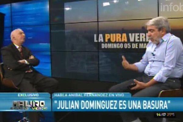 ÁNIBAL FERNANDEZ: