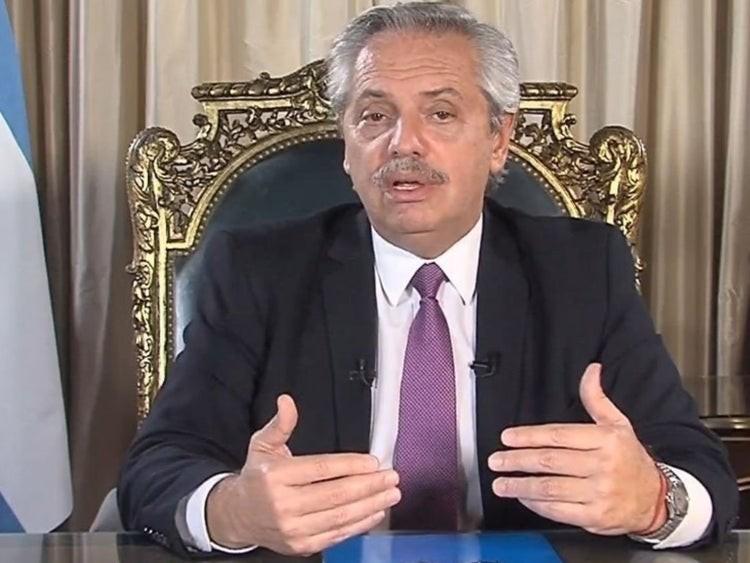 """Ya hay 31 casos  Alberto Fernández llamó por cadena nacional a estar """"unidos"""" contra el coronavirus y anunció: """"Vamos a tomar las medidas que hagan falta"""""""