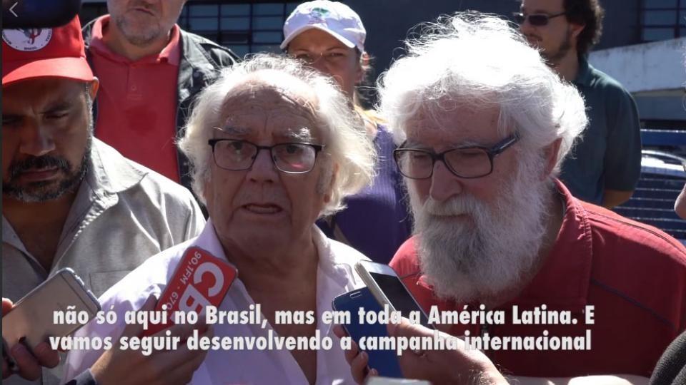 BRASIL: El mensaje de Boff y Pérez Esquivel para Lula