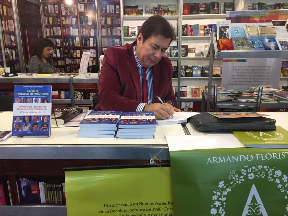 Edgardo Miller en la 44º Feria del Libro
