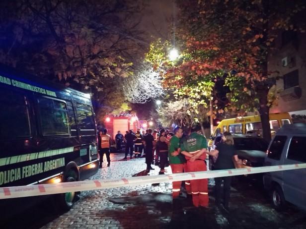 INCENDIO: Cuatro muertos  y 20 heridos en un geriátrico de Belgrano