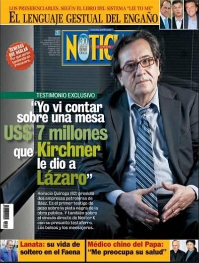 Apareció muerto un ex director de una empresa de Lázaro Báez, que le había ganado un juicio millonario