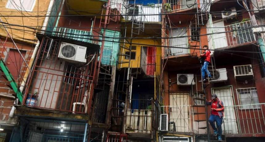 Coronavirus: crece la cantidad de casos en villas pero la mortalidad es baja respecto del resto de la Ciudad