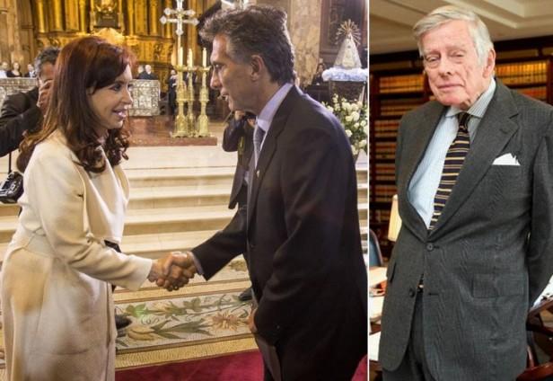 FONDOS BUITRE: Macri elogió a Cristina por negociar con Griesa: