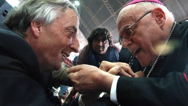 Monseñor Rubén Di Monte en la mira