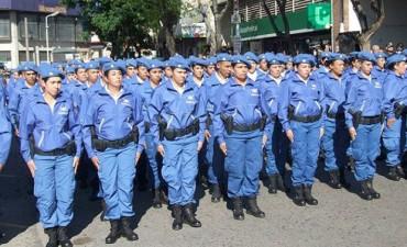 POLICÍA DE LA PROVINCIA: la formación es un dislate