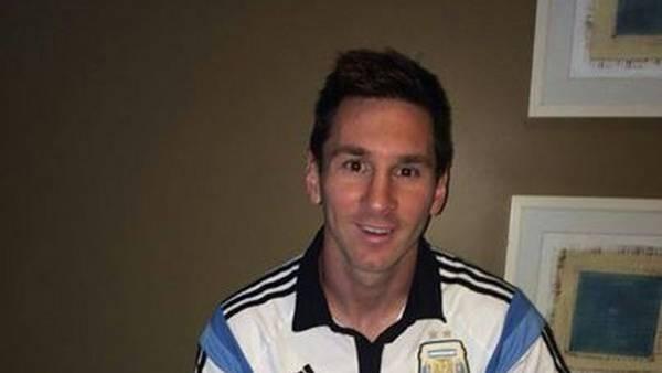 FÚTBOL: Messi envió un emotivo mensaje para los argentinos