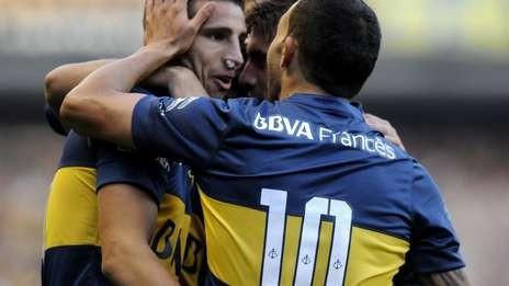 CARLOS TEVEZ: Boca Juniors venció a Quilmes en su retorno