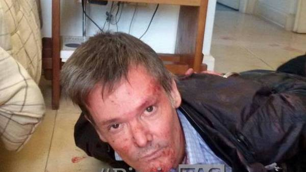 CRIMEN DEL COUNTRY: El rostro de Farré después de matar a su esposa