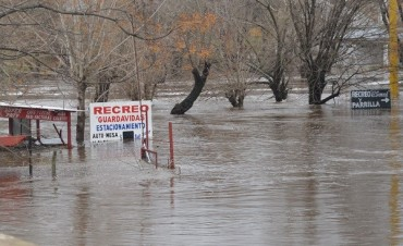 INUNDACIONES: Nueva crecida de Río Lujan
