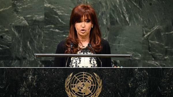 CRISTINA FERNÁNDEZ: Duro discurso en la ONU