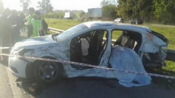 ACCESO OESTE: Un hombre que huía en contramano por la Autopista provocó una tragedia