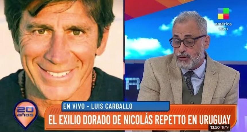"""Fuerte acusación  Jorge Rial aseguró que el Martín Fierro de Oro que ganó Nicolás Repetto """"fue comprado"""""""