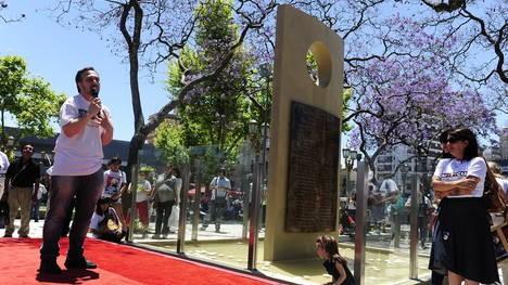 Tragedia de Once: con emoción, inauguraron un memorial de las víctimas