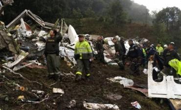 Chapecoense:Los hinchas despiden  sus ídolos