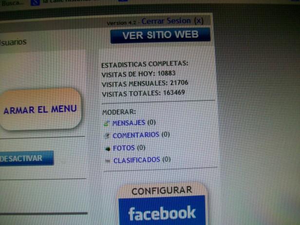 Patagonia Rebelde agradece a sus 10.883 lectores de hoy