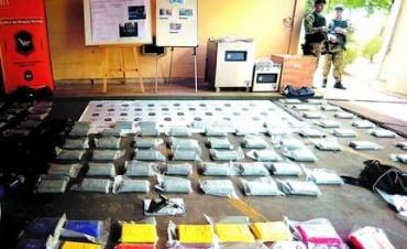 Caen con 550 kilos de cocaína en plena ruta Panamericana