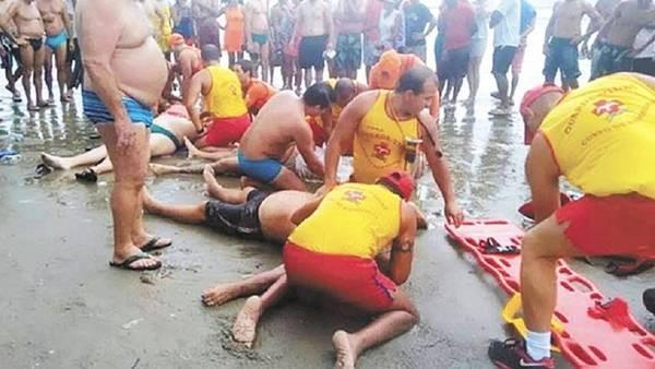 BRASIL: Un rayo mató a cuatro personas en una playa de San Pablo