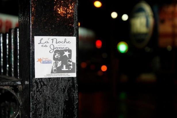 Juventud Socialista: CAMPAÑA DE NOCTURNIDAD