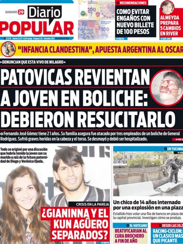 GENERAL RODRIGUEZ: Denuncian brutal golpiza a un joven en el boliche Malena