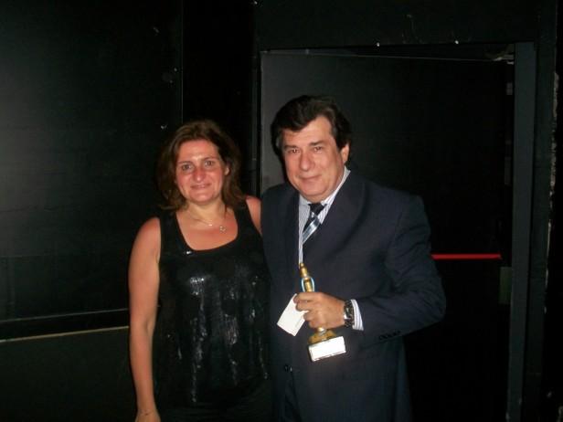 Edgardo Miller fue distinguido con el Premio Nacional Faro de Oro