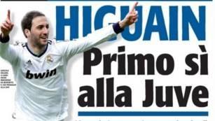 Higuaín está más cerca de Juventus