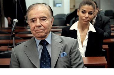 Carlos Menem rompió el silencio y ratificó su apoyo al Gobierno