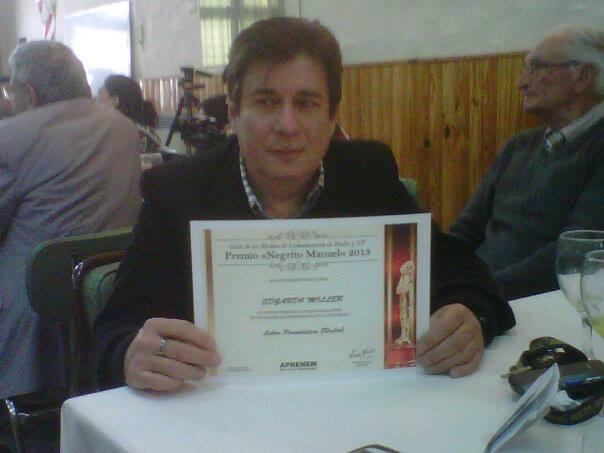 Edgardo Miller y Patagonia Rebelde nominados al Premio Negrito Manuel 2013