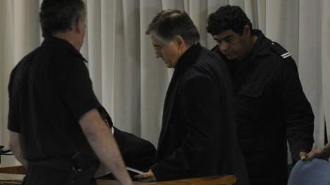 La Justicia dejó preso al cura Grassi: fue llevado a un penal de Ituzaingó