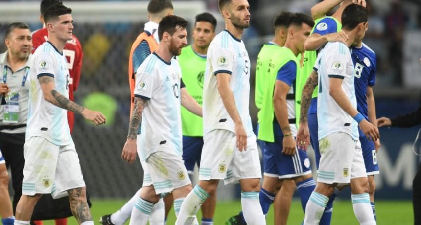 Copa América  Argentina logró lo que parecía imposible: un primer tiempo peor que contra Colombia